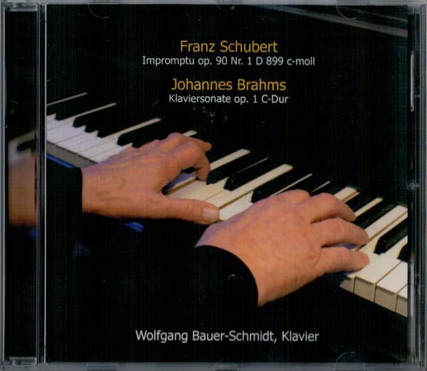 Schubert op 90/1, Brahms op 1 - Wolfgang Bauer-Schmidt